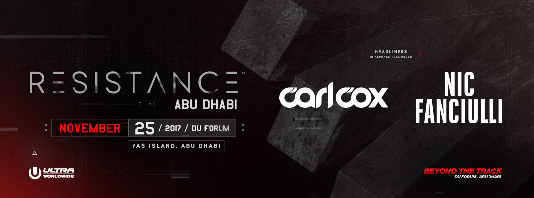 RESISTANCE To Make Abu Dhabi Debut