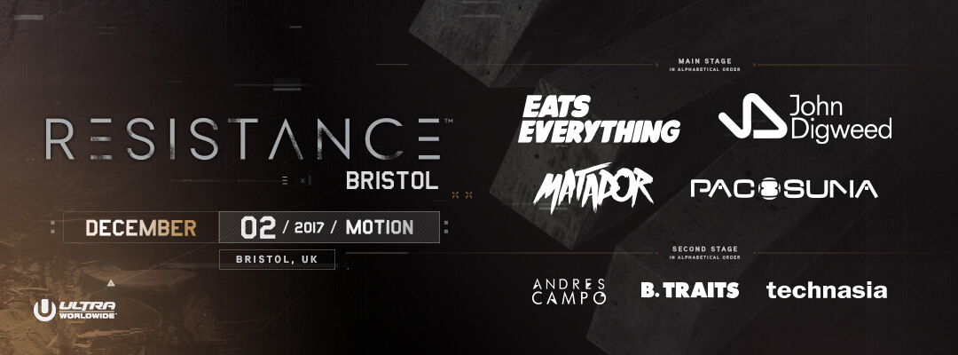 RESISTANCE Announces Bristol Debut