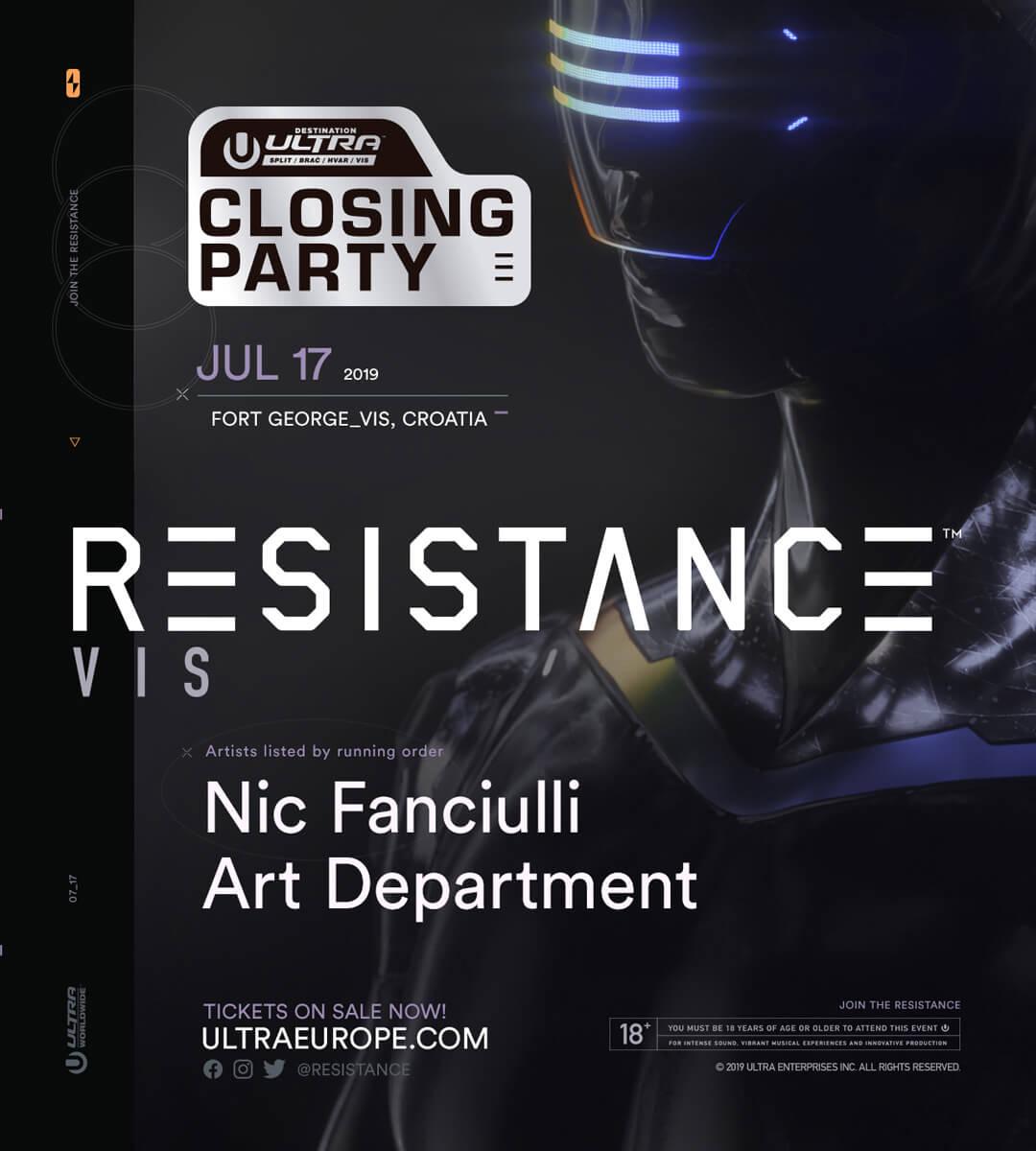 Vis 2019 (Destination Ultra Closing Party)