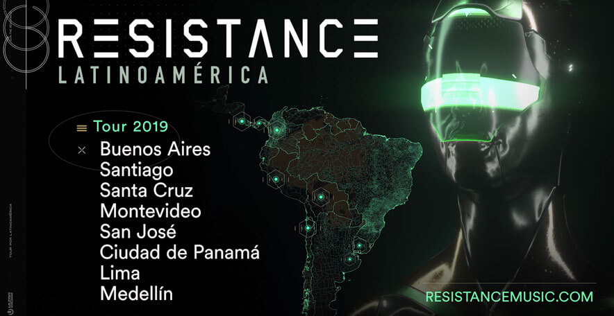 RESISTANCE Latin America 2019 Tour Announcement