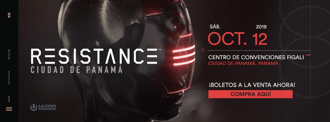 Compra las boletos para RESISTANCE Ciudad de Panamá