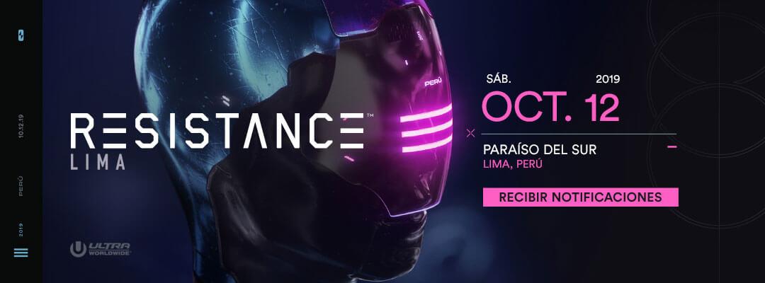 Compra las entradas para RESISTANCE Lima