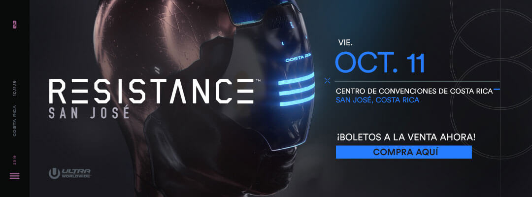 Compra las boletos para RESISTANCE San José 2019
