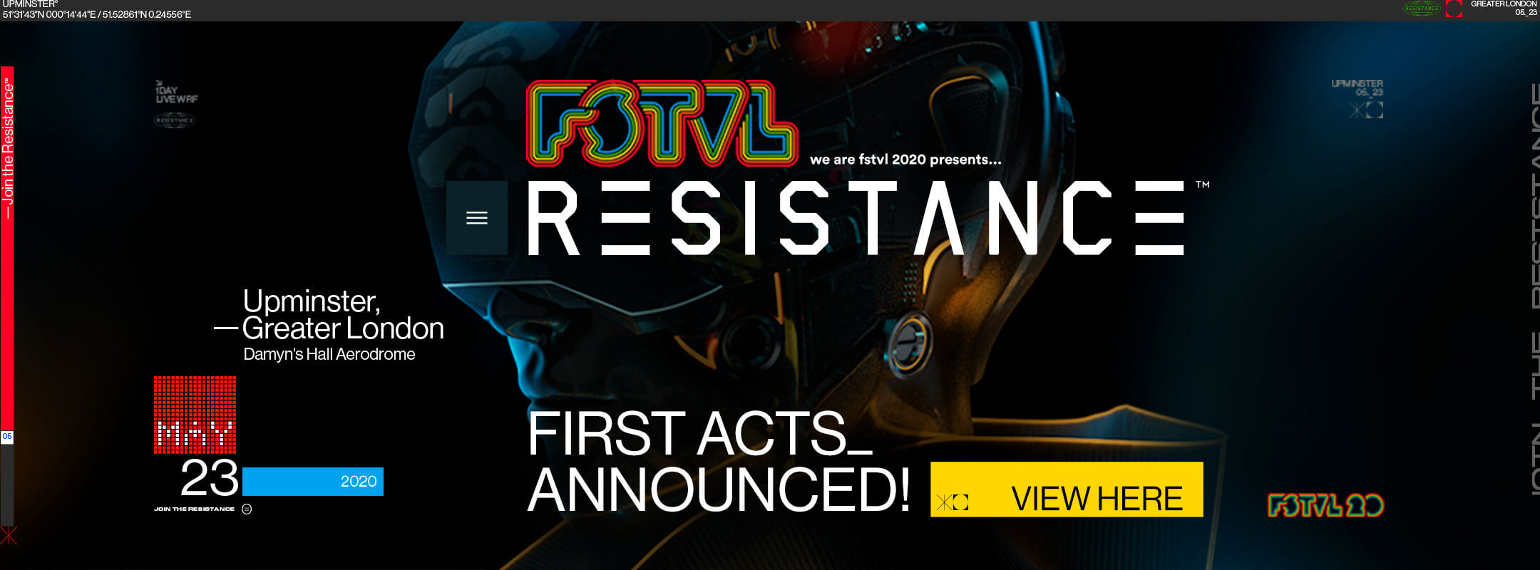 View the First Acts for Resistance We Are FSTVL 2020