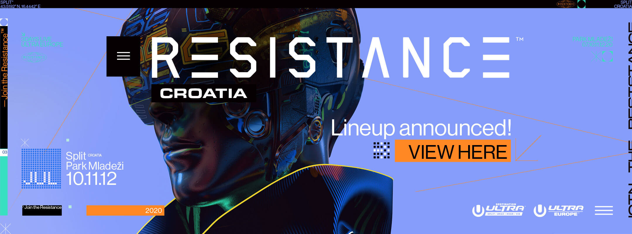 View the Resistance Croatia 2020 Lineup